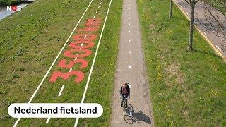 Hoe Nederland 15 miljard kilometer per jaar fietst
