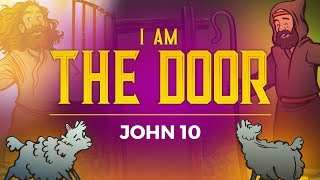 Sunday School Lessons for Kids - John 10-The Door-Bible Story for Kids | Sharefaithkids.com