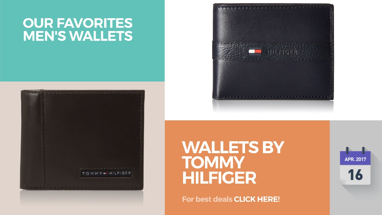 5986687f530 Wallets By Tommy Hilfiger Our Favorites Men's Wallets - YouTube