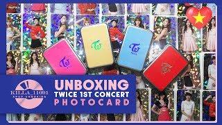 [Unboxing]TWICE 1st Tour 'TWICELAND' ENCORE Concert - PHOTOCARD