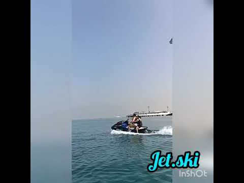 Jet ski. Jumeirah Burj Al Arab