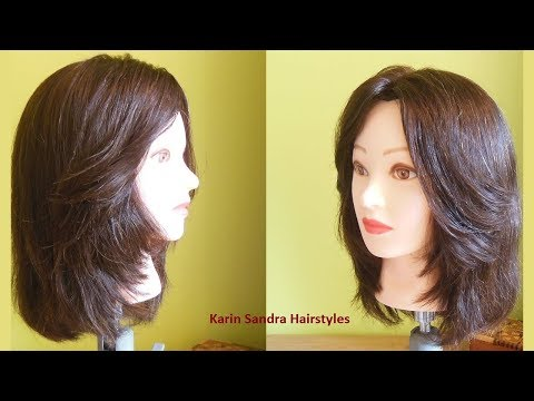 Bob Haircut With Face Framing Layers Haircut