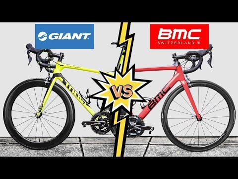 Giant TCR VS. BMC Teammachine (Head To Head REVIEW)