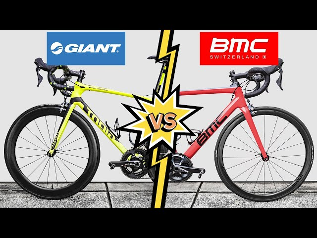 Giant TCR VS. BMC Teammachine (Head to Head REVIEW)