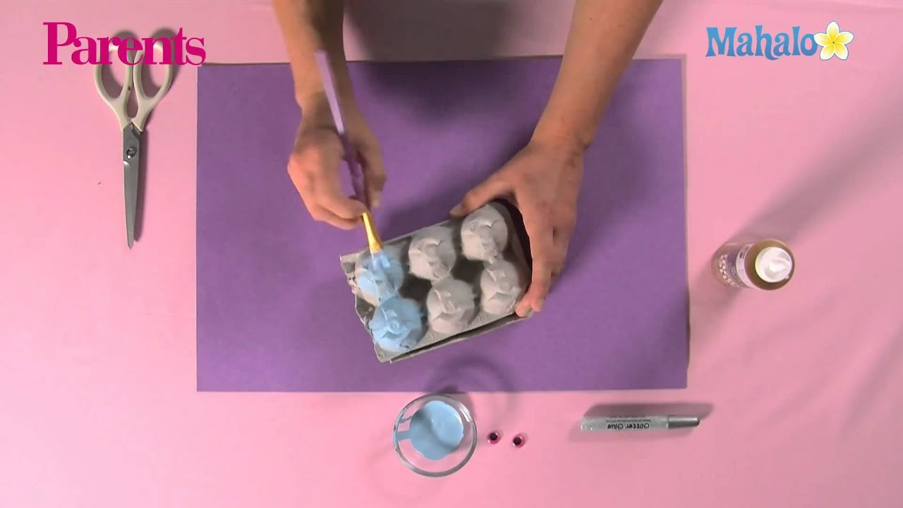 how to make egg carton sea creatures youtube