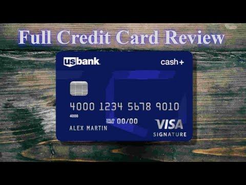 US Bank Cash+ Visa Signature Credit Card Review
