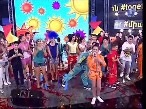JESC 2014 Armenia   Betty Elizabeth Danielyan   People of the Sun NF reprise