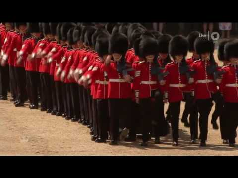 Trooping the Colour 2017 - The British Grenadiers (no commentary)