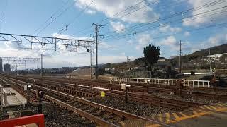 JR京都線 EF65+小田急5000形の甲種輸送