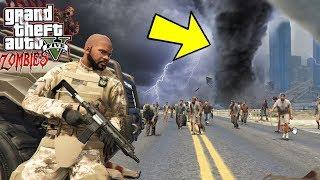 X ESTRELAS - O TORNADO ESTÁ DEVASTANDO LOS SANTOS! GTA 5 Zombies