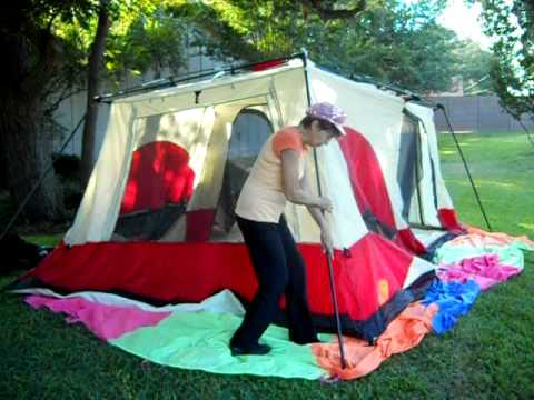 & Ten Minute Tent: Columbia Cougar Flats Pitch Main Lift - YouTube