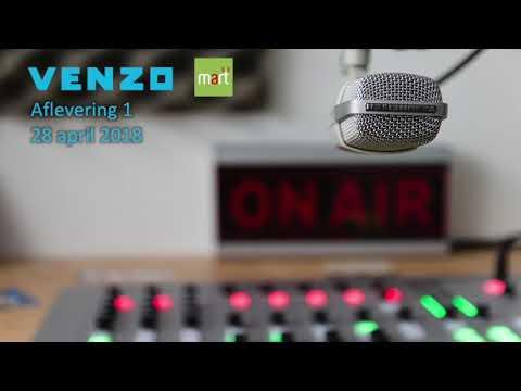 Radio-uitzending Venzo bij Radio Mart (28 april 2018)