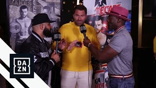 Eddie Hearn Chats With Ak & Barak (UNCUT)