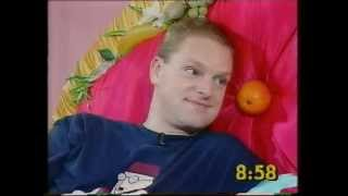 Andy Bell (Erasure) on the Big Breakfast Bed '94