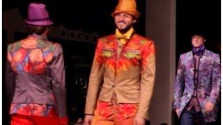 Мужской костюм 2015 / Показ Вячеслава Зайцева / Одежда для мужчин / Men's suits 2015
