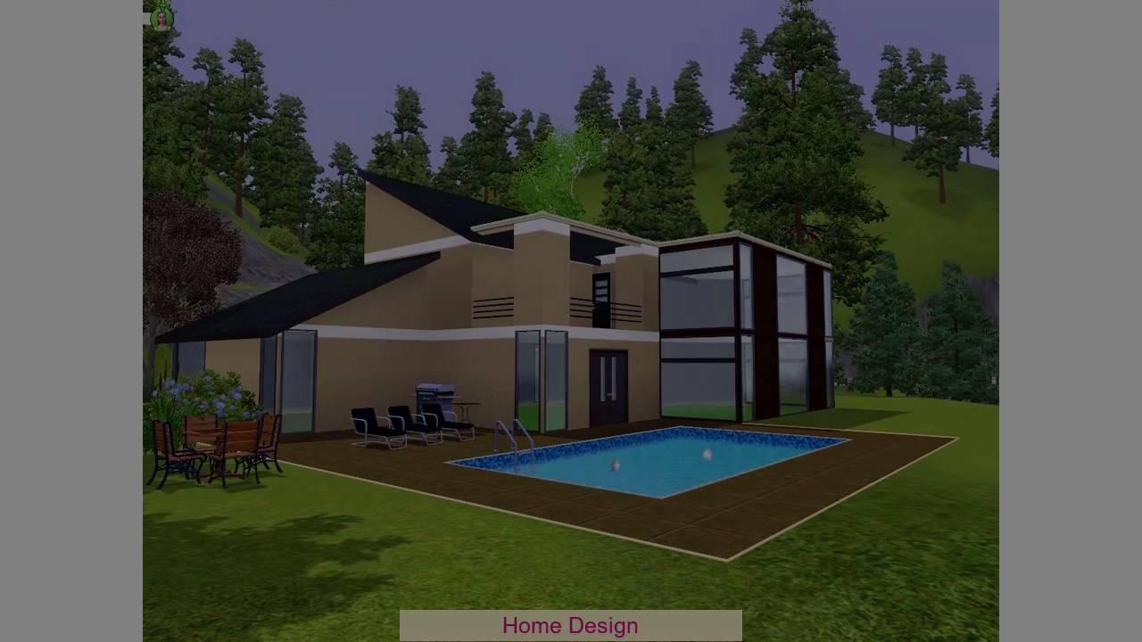 Desain Rumah The Sims 4 - YouTube