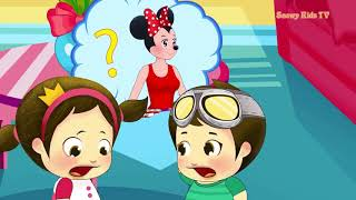 Learn Colors in Space. Kids Cartoons. Funny children