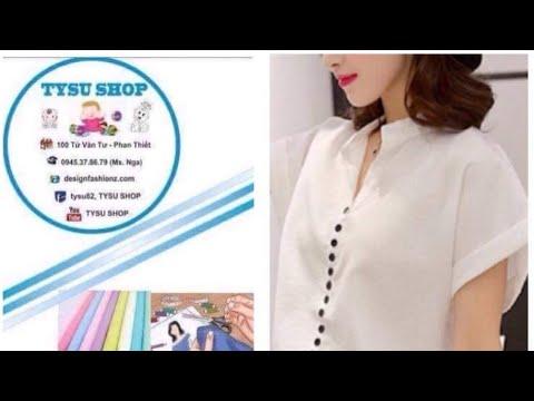 518_thiết Kế Áo Tay Liền|dạy cắt may online miễn phí | sewing online class free | tysushop