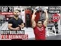 Massive Shoulders & FOREARM Split Workout! | DAY 21 | (Hindi / Punjabi)