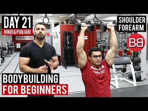 Massive Shoulders & FOREARM Split Workout  -  (Hindi / Punjabi)