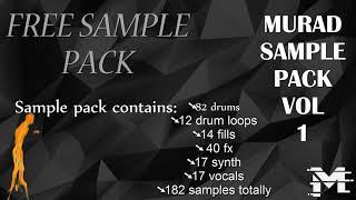 FREE EDM SAMPLE PACK   MURAD SAMPLES Vol.1