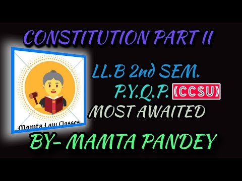 Contitutional Law Paper-||. Code K-2002 || Tips & Tricks