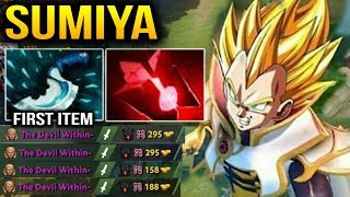 Sumiya Completely Destroyed Shadow Fiend with Blink & Blood Stone Dota 2 7.11