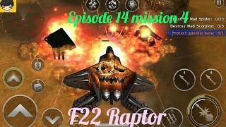 Episode 14 mission 4, gatecrasher(hard) Gunship battle HD gameplay