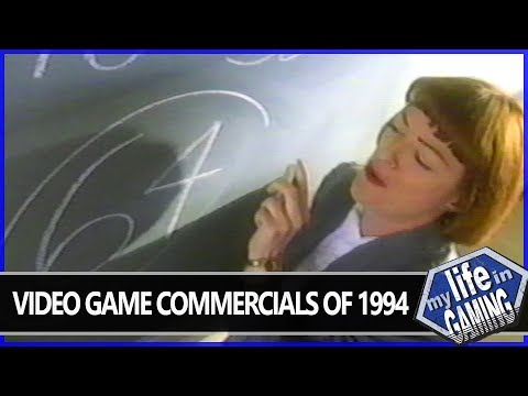 Video Game Commercials of 1994 :: Video Showcase - MY LIFE IN GAMING