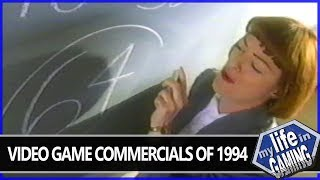 Video Game Commercials of 1994 - Sonic & Knuckles, X-Men & More! / MY LIFE IN GAMING