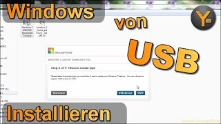 Windows von einem USB-Stick installieren (Windows 7 / 8 / 8.1)