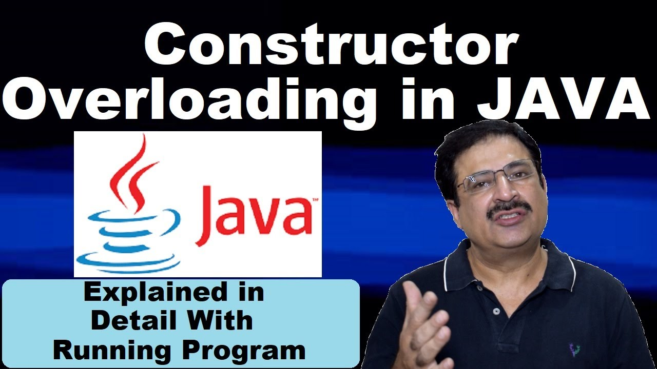 Java video tutorial for beginners constructor overloading in java video tutorial for beginners constructor overloading in english baditri Gallery
