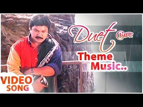 Theme Music | Duet Tamil Movie | Prabhu | Meenakshi | Ramesh Aravind | AR Rahman