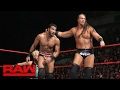 Enzo Amore Big Cass vs. Rusev Jinder Mahal Tornado Tag Team Match Raw, Jan. 30, 2017