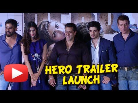 HERO Official Trailer Launch UNCUT | Salman Khan Introduces Sooraj Pancholi And Athiya Shetty