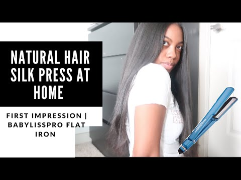 silk-press-at-home-on-natural-hair-|-babyliss-pro-flat-iron-first-impression!
