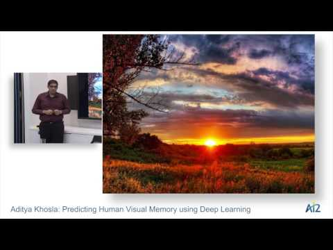 Aditya Khosla: Predicting Human Visual Memory using Deep Learning
