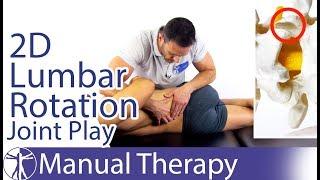 Lumbar Spine Extension-Rotation Intervertebral Joint Play | 2D Gap Assessment