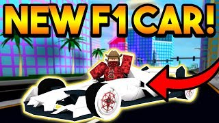 HOW FAST IS THE *NEW* F1 CAR IN MAD CITY? | ROBLOX: Mad City