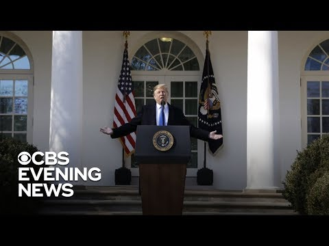 Trump declares national emergency to build the border wall Mp3