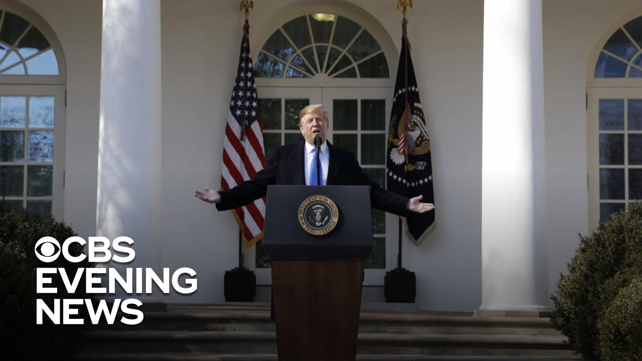 Trump declares national emergency to build the border wall