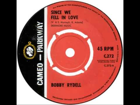 "Bobby Rydell -- ""Since We Fell In Love"" (UK Cameo-Parkway) 1963"