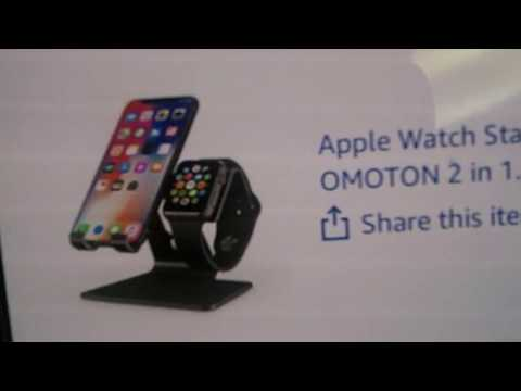 Sean Checks It Out Episode 49 - Apple Watch & iPhone Stand by OMOTON (Amazon)
