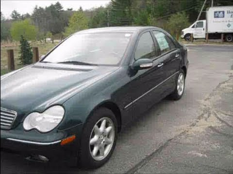 2003 mercedes benz c240 start up engine in depth tour youtube. Black Bedroom Furniture Sets. Home Design Ideas