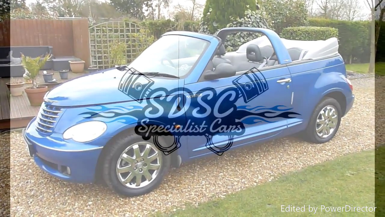 Video Review Of 2006 Chrysler Pt Cruiser Convertible For Sale Sdsc Specialist Cars Cambridge Uk