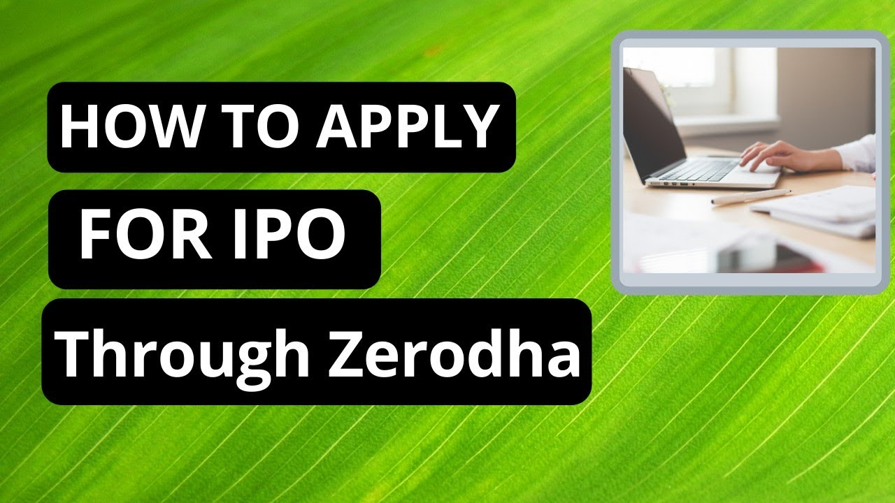 Where To Check Ipo Allotment Status In Zerodha