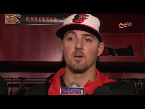 Kevin Gausman on earning the win against the Astros