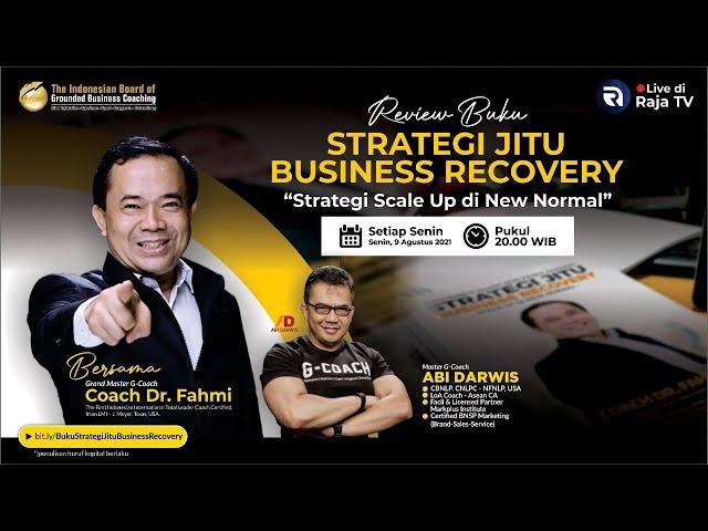Review Buku: Strategi Jitu Business Recovery, bersama Abi Darwis