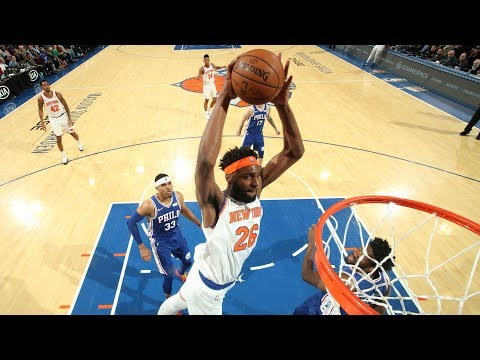 Mitchell Robinson Holds His Own vs. Joel Embiid | New York Knicks Postgame