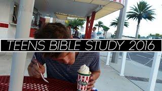Video Teens Bible Study Jacksonville 2016!! download MP3, 3GP, MP4, WEBM, AVI, FLV Juni 2018